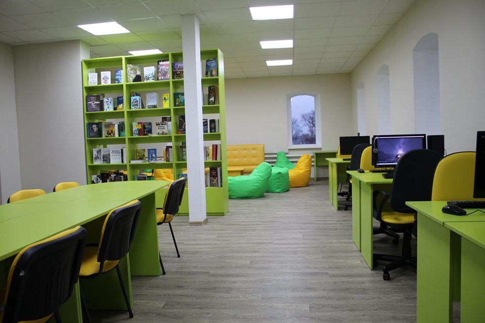 У Біловодську оновлено селищну бібліотеку (Луганська обл.)