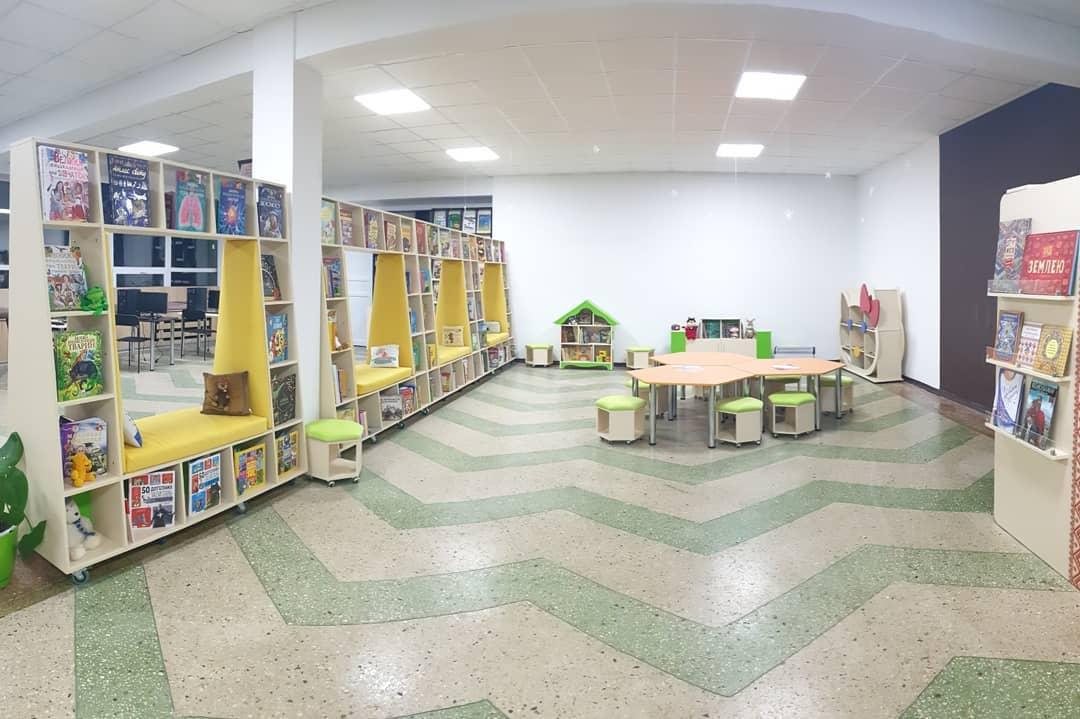 Відкриття Менської публічної бібліотеки у Чернігівській області